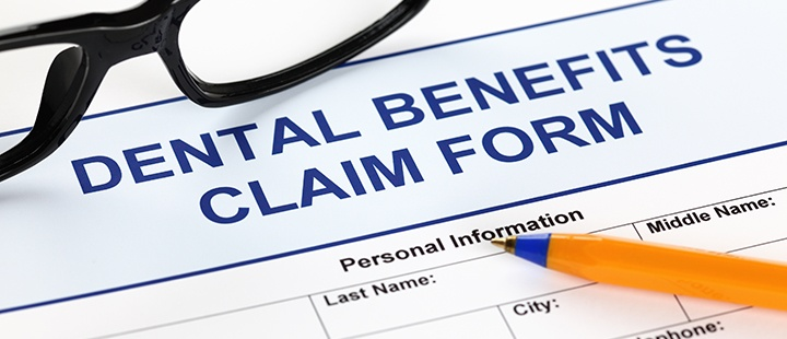 Dental insurance patients claim form