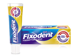 Professional denture adhesives Fixodent
