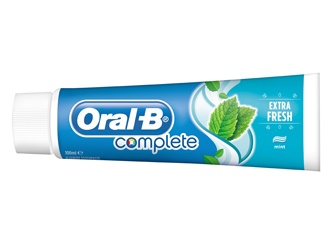 Oral-B Complete Extra Fresh Toothpaste (bad breath cure)
